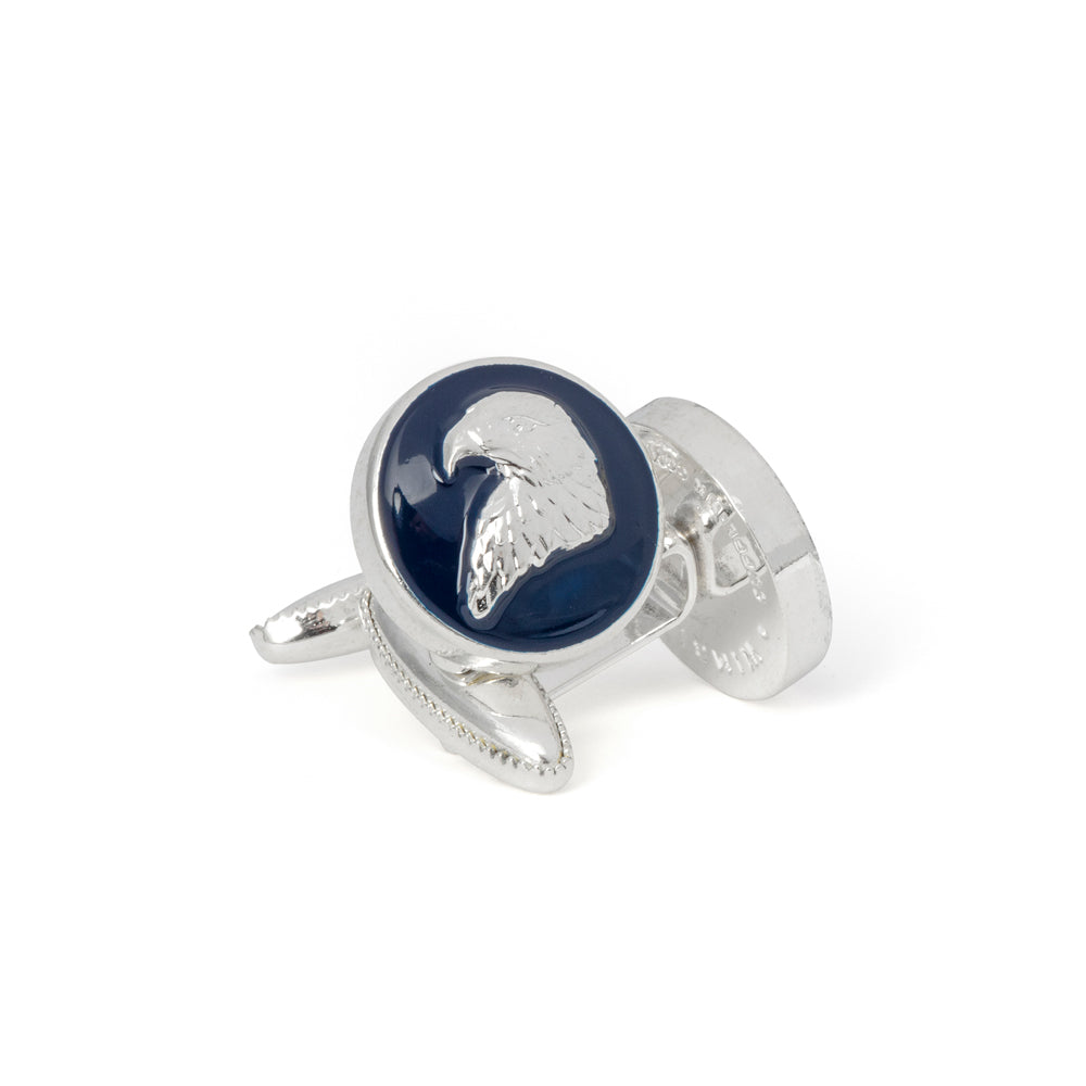 The Bald Eagle's Head Cufflink