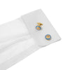 The Golden Lion Cufflink - Wimbledon Cufflink Company