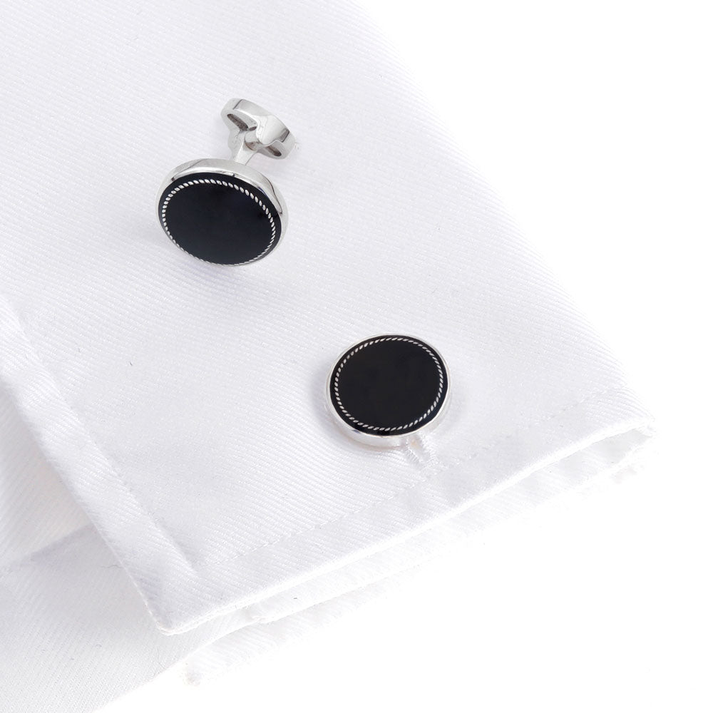 The Formal 925 Sterling Silver Cufflink