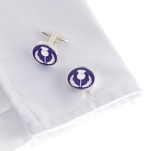 Scottish Thistle Cufflink