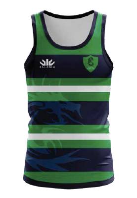 DRAGONS RUGBY CLUB TRAINING SINGLET