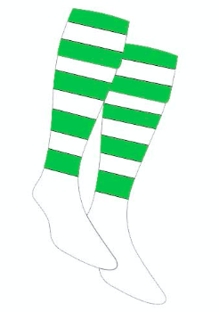 Dragons Rugby Club Socks