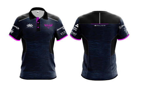 Valkyries Supporters Polo (FEMALE) with Sponsors