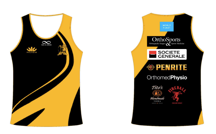 SCC Rugby Section Training Singlet