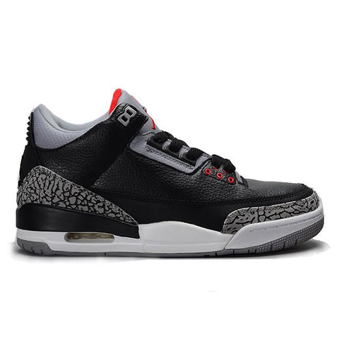 Air Jordan Retro 3 ( Black / Cement Grey )