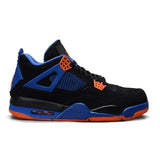 Air Jordan 4 Cavs ( Black / Safety Orange / Game Royal )
