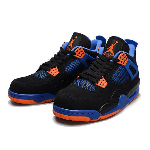 the latest d1771 9170d Air Jordan 4 Cavs ( Black   Safety Orange   Game Royal )