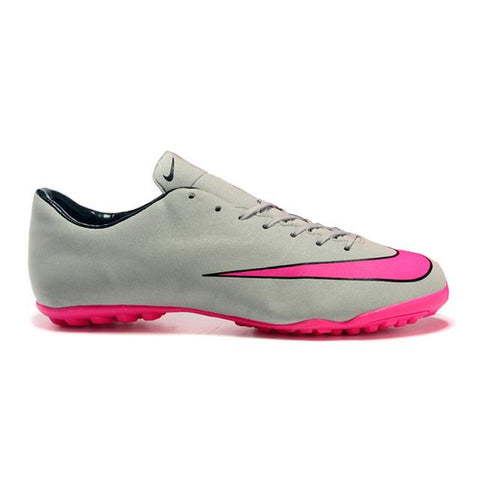 2015 Nike Mercurial Victory V TF Football Boots Gray Pink