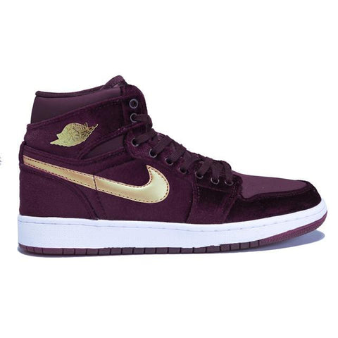 Authentic Air Jordan 1 Night Maroon Women