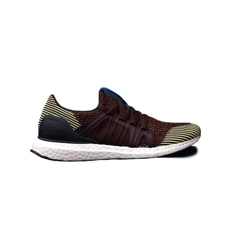 Adidas By Stella McCartney Ultra Boost Brown Yellow Stripe Men