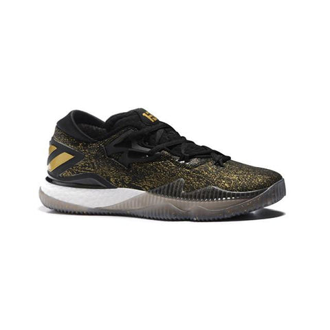 Adidas Crazylight Boost Low 2016 Black Gold Men