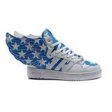 Adidas Obyo Js Wings White Red Blue Men Shoes