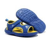 Adidas Supercloud Sandals 2k Kids Royal Blue Yellow Lemon