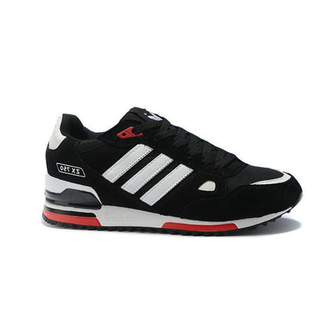 Adidas ZX 750 Running Black White Red Men Shoes