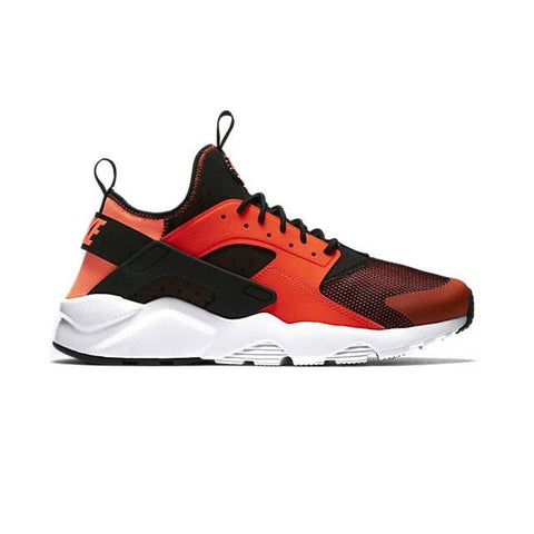 496009696803 Air Huarache Run Ultra Breathe Black Orange White Men