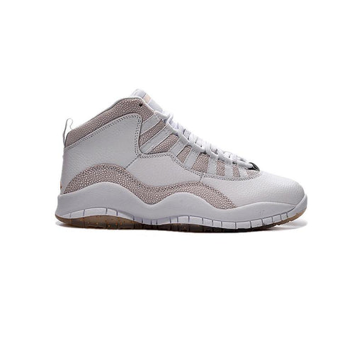 Air Jordan 10 White Gold OVO