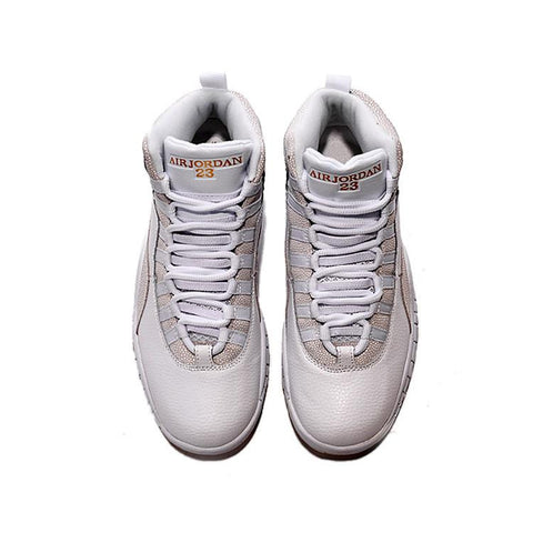 ddafc3b94a6656 Air Jordan 10 White Gold OVO – Sneaker-CEO