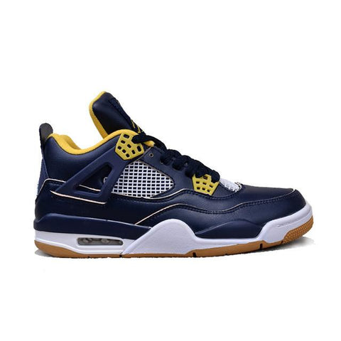 Air Jordan 4 Navy Yellow Apring 2016