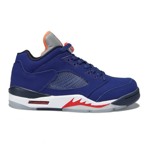Air Jordan 5 Low Knicks Orange Blue Women