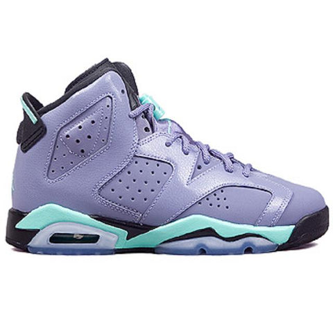 Air Jordan 6 Retro Iron Purple Bleached Turquoise Women