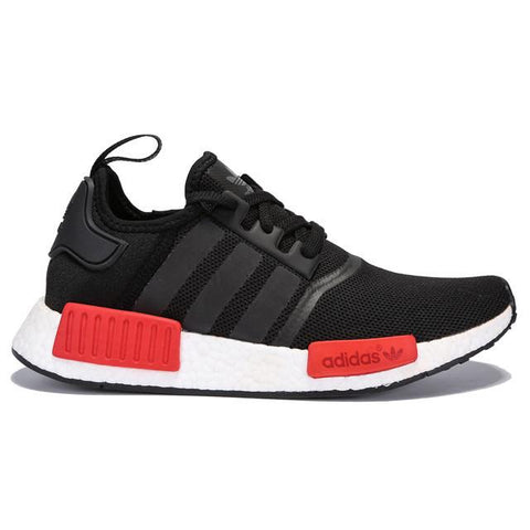 Authentic Adidas NMD R1 Mesh Black Red Men