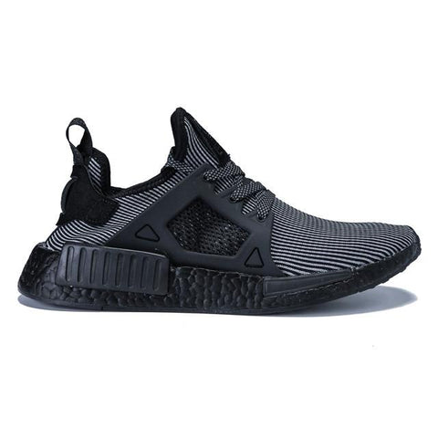 Authentic Adidas NMD XR1 Pin Stripe Core Black Men