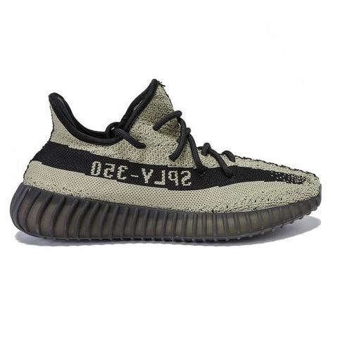 Authentic Adidas Originals Yeezy Boost 350 V2 Sage Green Black Men