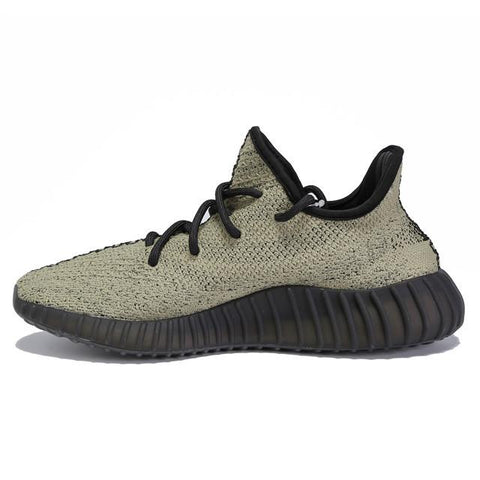Adidas Yeezy Boost 550 mens BlackGreen discount sale shoes