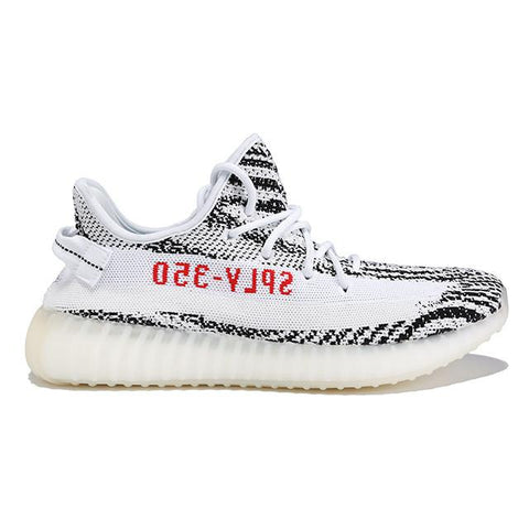 Authentic Adidas Originals Yeezy Boost 350 V2 Zebra Black White Men