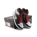Air Jordan 1 High(Black-Sport Red-White)