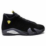 Air Jordan 14 Black Suede Ferrari Black