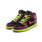 Air Jordan 1KO(PaleGodenrod - Black - GreenYellow)
