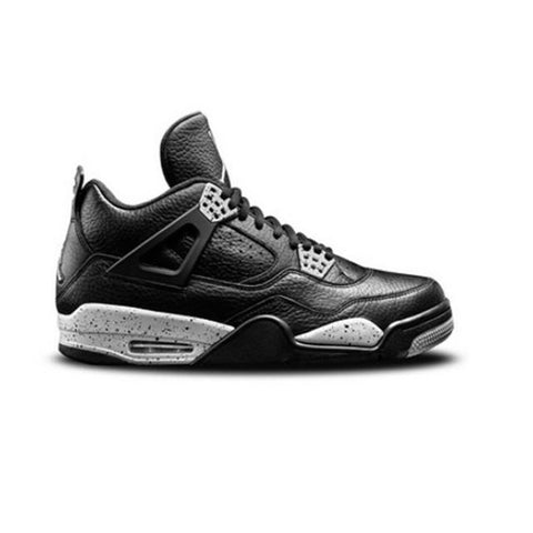Air Jordan 4 Black-Black-Cool Grey