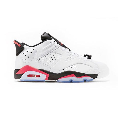 Authentic Air Jordan 6 Low White Infrared Women