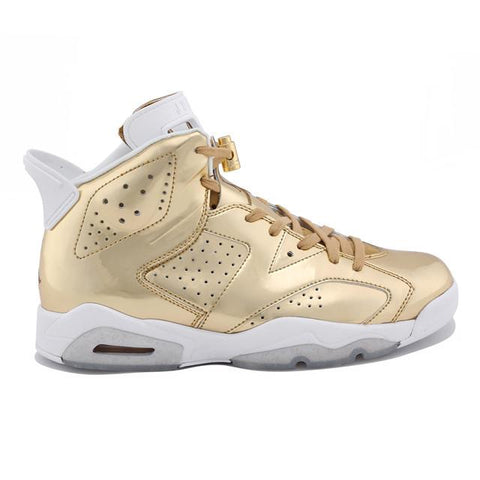 Authentic Air Jordan 6 Pinnacle Gold Men