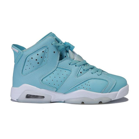 Authentic Air Jordan 6 Still Blue Women