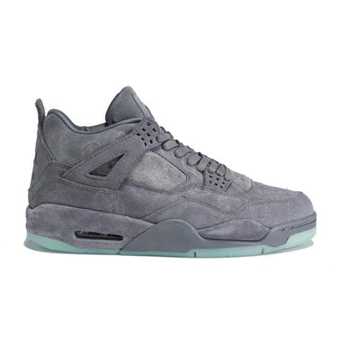 Authentic KAWS x Air Jordan 4 Cool Grey Women