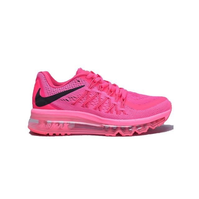 cheap for discount 94058 aba8a ... authentic nike air max 2015 women shoes pink foil black 698903 600
