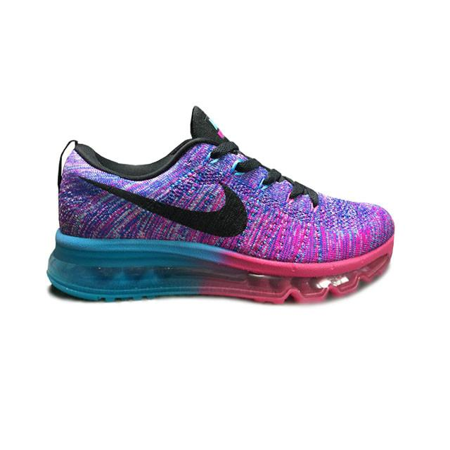 a69d98b37e9a ... wholesale authentic nike flyknit air max gs womens shoes fuchsia flash  black cle arwater 620659 502 ...