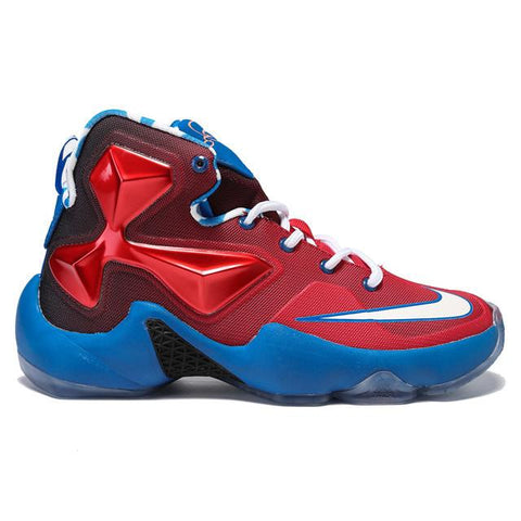 Authentic Nike Lebron XIII Captain America Women