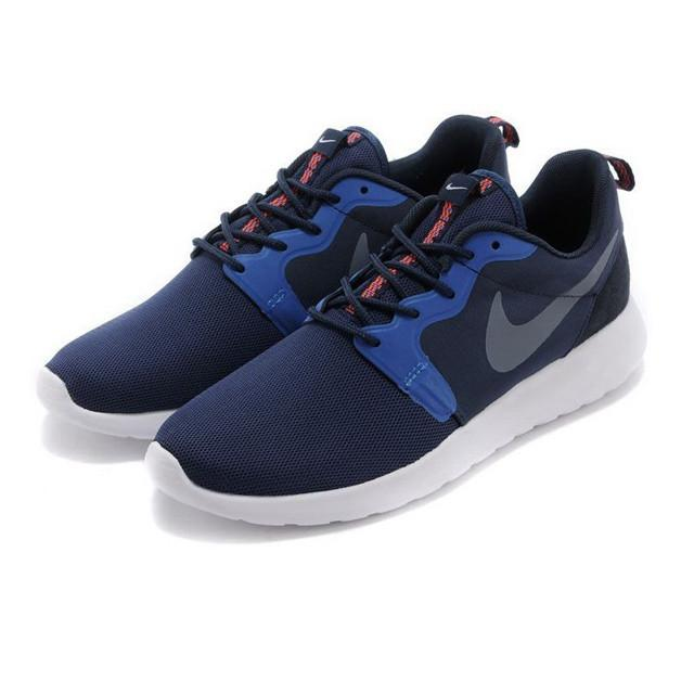 eafd2f5dead7c In The Dark Nike Rosherun Hyperfuse Midnight Navy Light Men Shoes –  Sneaker-CEO