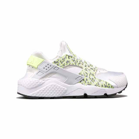 Nike Air Huarache White Green Leopard Women