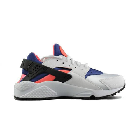 Nike Air Huarache White Purple Orange Men