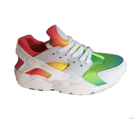 Nike Air Huarache White Rainbow Men