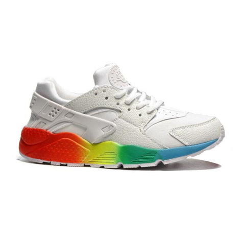 Nike Air Huarache White Red Yellow Green Blue Men