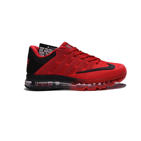 Nike Air Max 2016 Red Black Black Logo Men