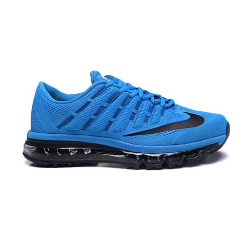 Nike Air Max 2016 Running Shoes Bright Blue Black Men