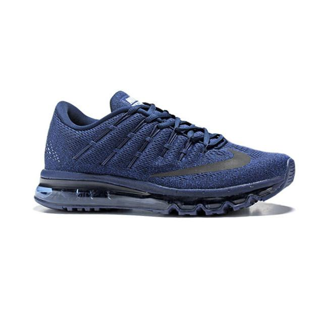 size 40 96669 db9aa Nike Air Max 2016 Running Shoes Dark Blue Black Men