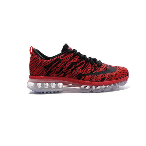 Nike Air Max 2016 The Waves Fly Line Red Black Men