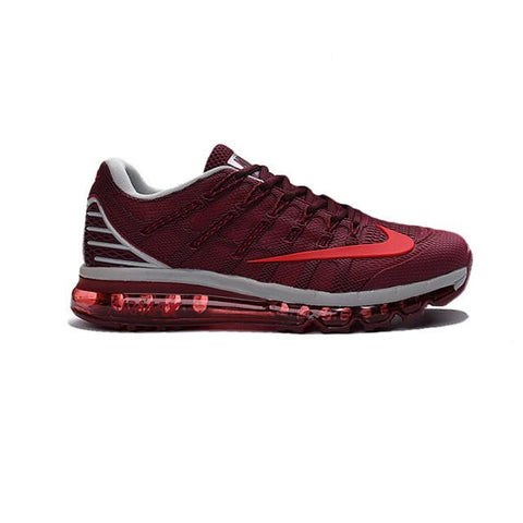 Nike Air Max 2016 Wine Red White Red Logo Men